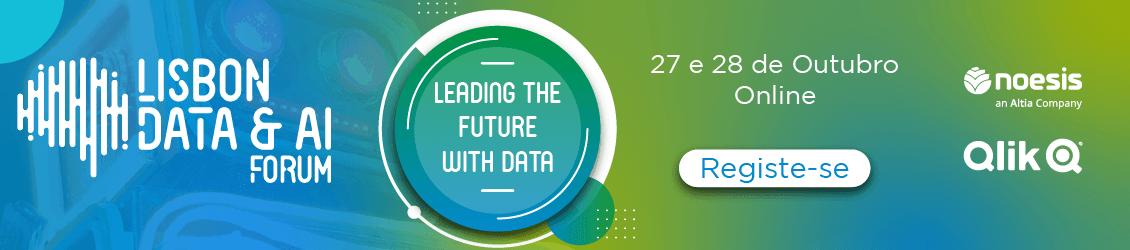 Lisbon Data & AI Fórum | 27 e 28 de outubro | Registe-se