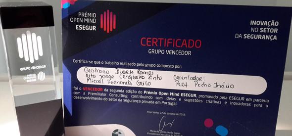 Inovação inteligente premiada na Universidade da Beira Interior