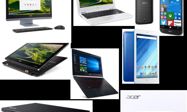 Acer tecnologicamente atualizada