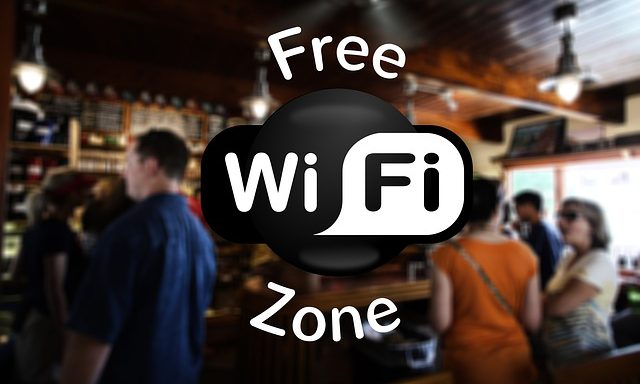 Wifi gratuito no centro das cidades