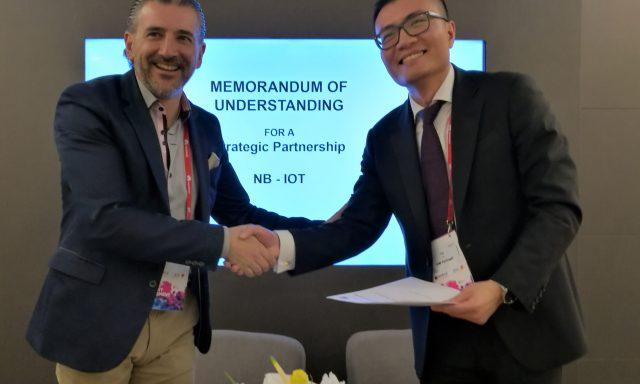 Altice e Huawei assinam parceria para IoT