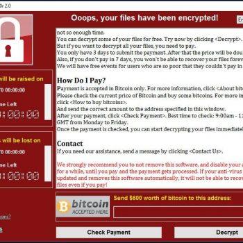Como se deve proteger contra o WannaCry