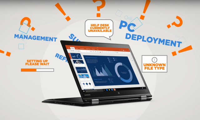 Lenovo entra na corrida do PC como serviço