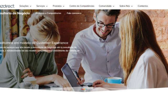 Bizdirect tem novo site com quiz para clientes