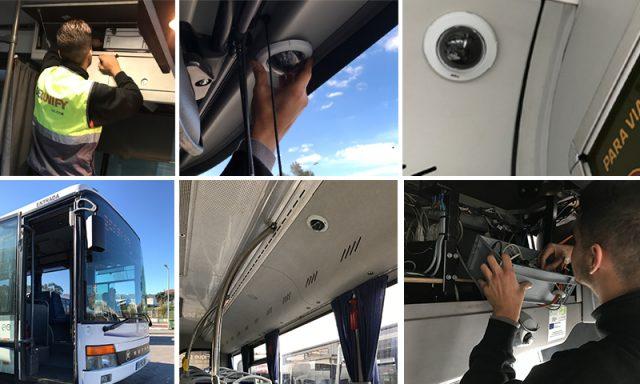 Transportes Sul do Tejo investe em videovigilância