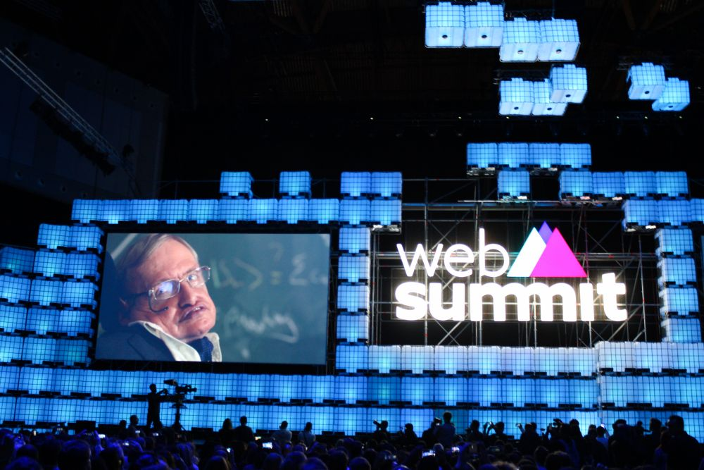 Web Summit Stephen Hawking