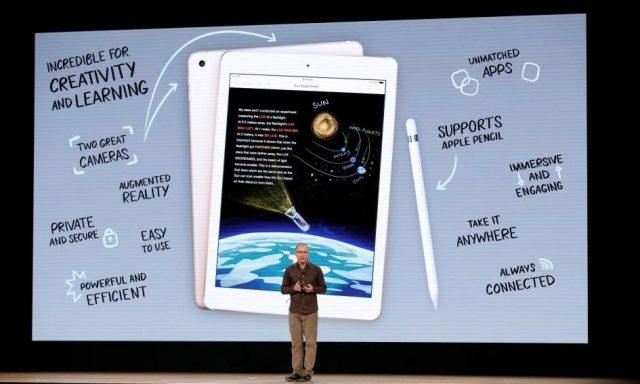 Apple aponta baterias à educação com novo iPad