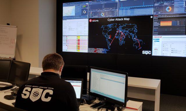 Claranet investe 600 mil euros em novo centro de cibersegurança