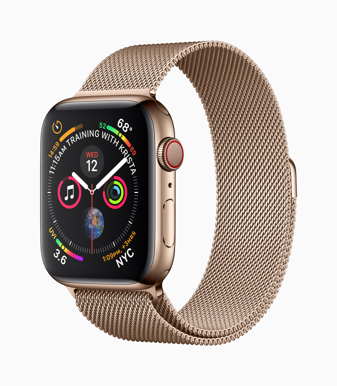 Apple Watch Series 4 - Ouro