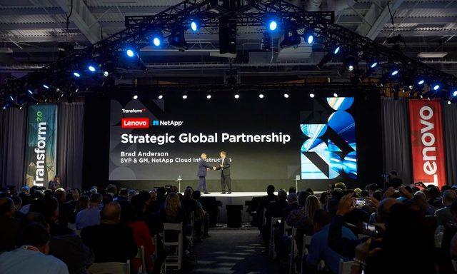 Lenovo e Netapp dão as mãos em parceria estratégica global