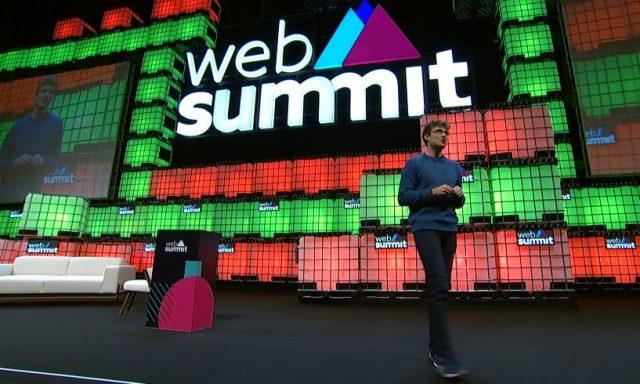 Já começou a Web Summit 2018