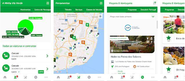 App da Via Verde alcança um milhão de downloads