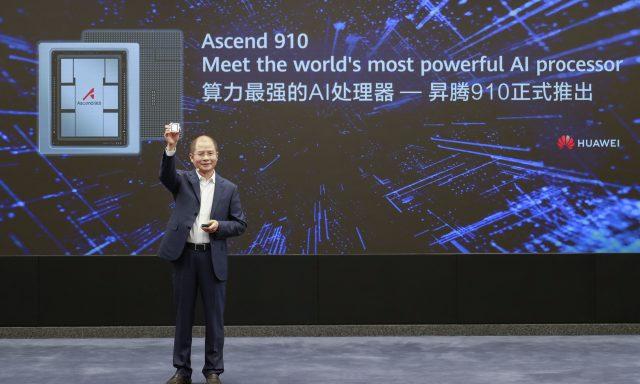 Huawei dá mais um passo chave no domínio da inteligência artificial