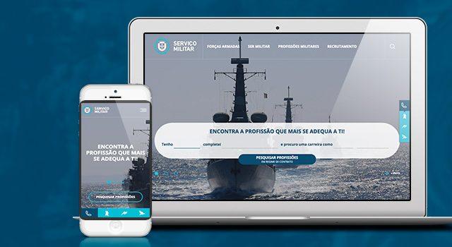 Javali renova portal do recrutamento militar