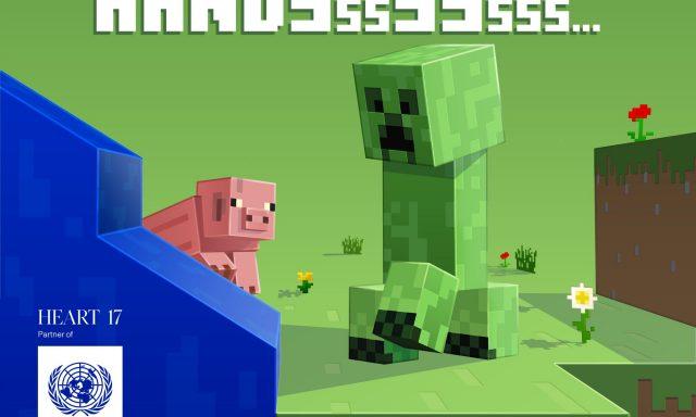 Minecraft ajuda a consciencializar para o COVID-19