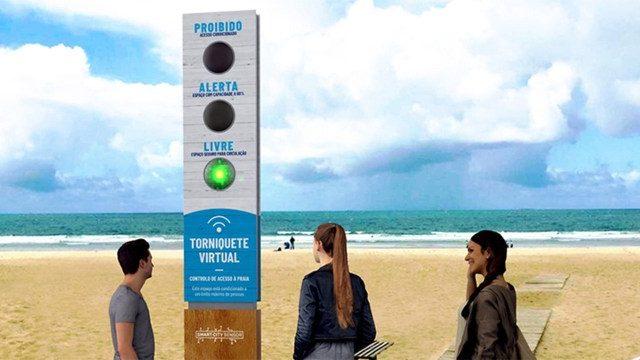 Startup portuguesa que criou torniquetes virtuais para as praias negoceia com 15 municípios