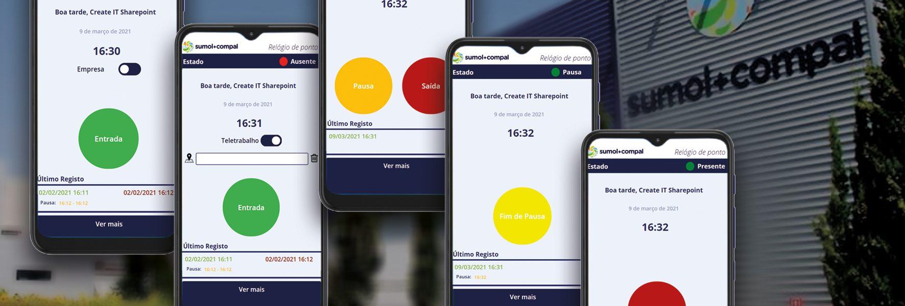 Sumol+Compal tem novo relógio de ponto