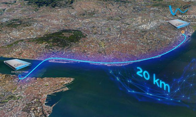 Tecnologia quântica suporta ligação segura entre a Gare do Oriente e o Pragal