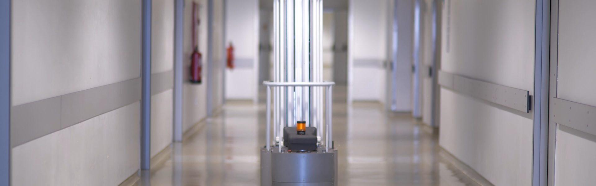 Zhello: o robot português que faz desinfeção de espaços