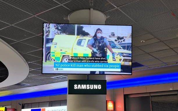 Aeroporto de Frankfurt exibe notícias legendadas com tecnologia portuguesa